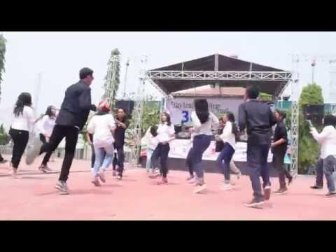 SMADA 36th Anniversary - XII IPS 1 Flashmob