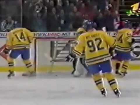 ЧМ по хоккею 2000, Санкт-Петербург, Россия - Швеция