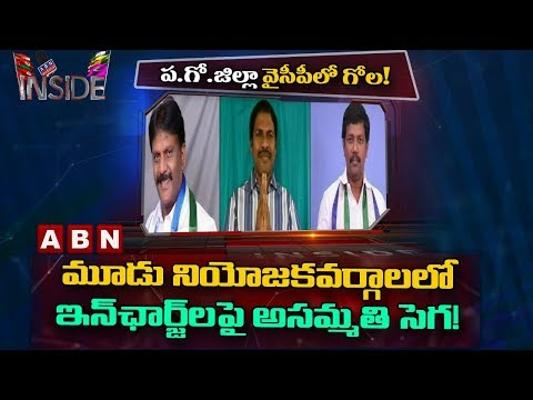 Clash Between YCP Leaders in West Godavari | Focu on YCP Politics | Inside