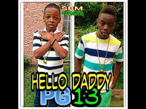 Little Vybz & Little Addi |vybz Kartel Sons| -hello Daddy June 2014 video