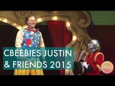 Cbeebies Live Justin And Friends 2015 video