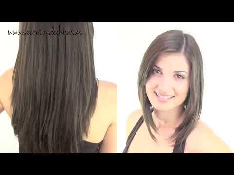 Cómo cortar el cabello estilo bob