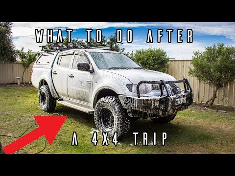 How To Wash Your 4x4