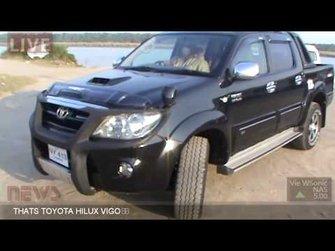 TOYOTA HILUX VIGO 4X4 INTER COOLER TURBO CHARGER AUTOMATIC