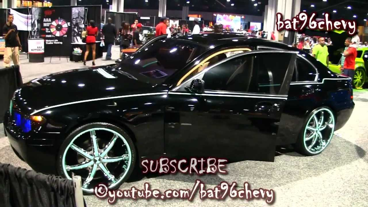 Black Reflective Teal Bmw 745i On 24 S 1080p Hd Youtube