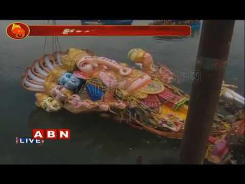 Khairatabad Ganesh Idol Immersion In Tank Bund | khairatabad Ganesh Nimajjanam 2018