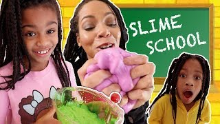 Slime School Get Caught Sneaking -  New Toy School