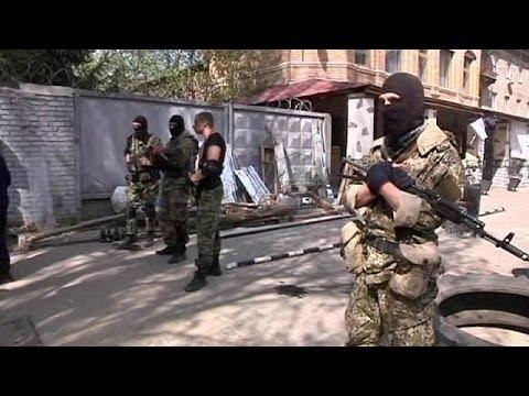 US Vice President Joe Biden arrives in Kyiv