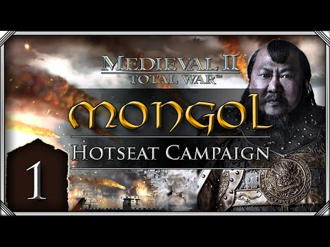 M2tw: Kingdoms - Teutonic Hotseat Campaign: Mongols #1 video