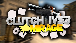 CSGO 1vs3 Clutch Noci