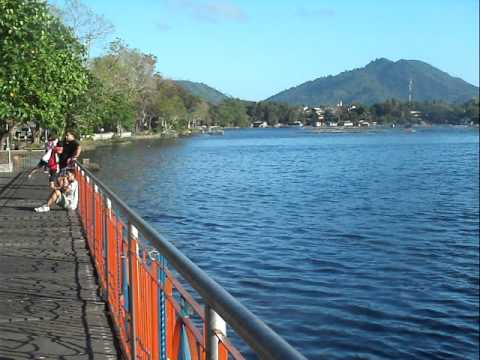 Morning View of Sampaloc Lake, San Pablo City, Laguna
