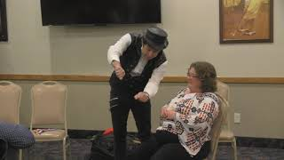12-07-18 - Newfield Exploration Company - Comedy magic show