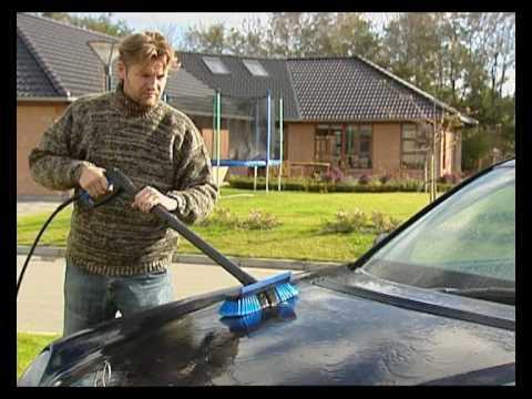 brosse lavage voiture pour nettoyeur haute pression sur vianetis youtube. Black Bedroom Furniture Sets. Home Design Ideas