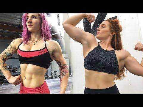 Female Bodybuilding vs. Powerlifting - How We Train
