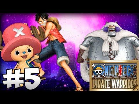 One Piece Pirate Warriors #5 - Chopper e Gordo fdp !!!