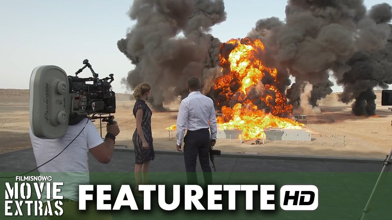 "Spectre (2015) Featurette - Largest Film Explosion ""GUINNESS WORLD RECORD"""