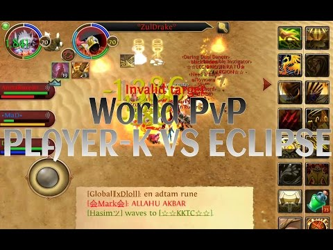 Order and Chaos Online: World PvP - PLAYER-K vs Eclipse