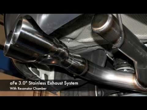 BMW 135i aFe Exhaust Dyno