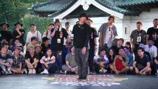 KEI vs NELSON Best8_01 | SAMURAI WORLD FINAL 2017.07.02 | Red Bull BC One Camp Japan 2017