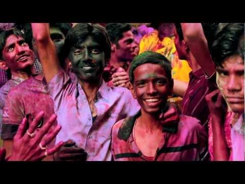 Holi Festival in Mysore, India