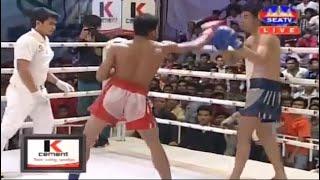 Lao chantrea Vs Kwan Ek ,Khmer Vs Thai (Muay Thai) SeaTv Boxing 2019