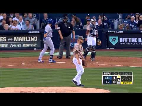2014 MLB Season 3/30/14: Dodgers @ Padres