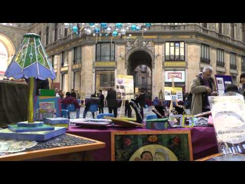 NAPOLI - Natale a  San Gregorio Armeno - prima parte - HD