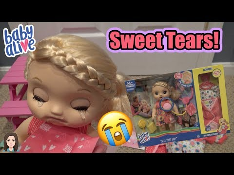 Baby Alive Sweet Tears Baby Unboxing + GIVEAWAY!   Kelli Maple