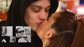 Ariana Grande and Pete Davidson cute moments - PART 2