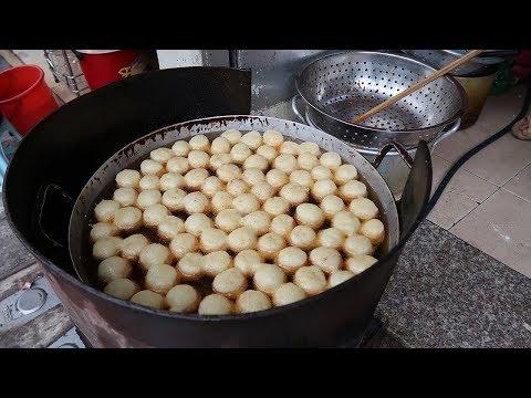 Street Food Vietnam - Glutinous Rice Doughnut - Street Food