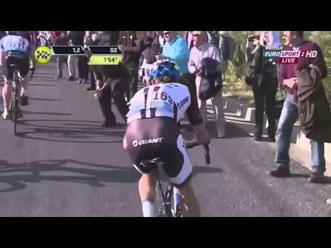 Alberto Contador wins stage 5 of Tirreno-Adriatico highlights (March 16 2014) HD
