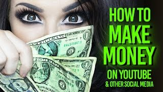 HOW TO MAKE MONEY ON YOUTUBE - Getting started on YouTube series