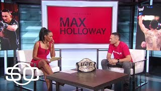 Max Holloway Excited To Fight Jose Aldo At UFC 212 | SportsCenter | ESPN
