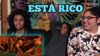 Reaction Marc Anthony Will Smith Bad Bunny Está Rico Official Audio
