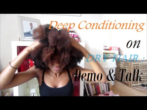 Deep Conditioning On Dry Hair