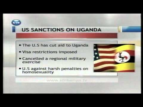 United States cut aids to Uganda citing opresive laws against homosexuals