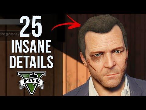 25 INSANE Details in GTA V