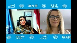 الشرطية دعاء شحاتة.. فخر مصر في الأمم المتحدة