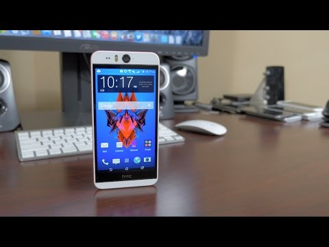 HTC Desire Eye Unboxing and First Impressions!