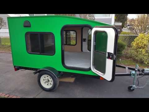 My Mini Trailer. Most Affordable Mini Camper Trailer. Model Serenity X