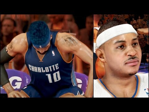 NBA 2k14 MyCAREER Playoffs PS4 Game 3 Bridges Benched While Melo Taunts