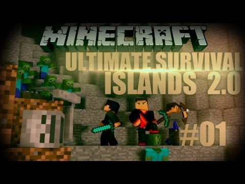 Minecraft: Ultimate Survival Islands 2.0 - Episode 1 - Here We Go Again!