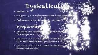 Vortrag Legasthenie / LRS / Dyskalkulie