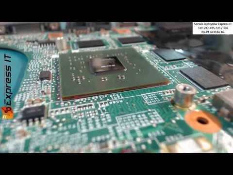 BGA Naprawa HP Pavilion dv6000. dv9000 repair VGA FIX. Wymiana układu BGA. NIE REBALLING BGA