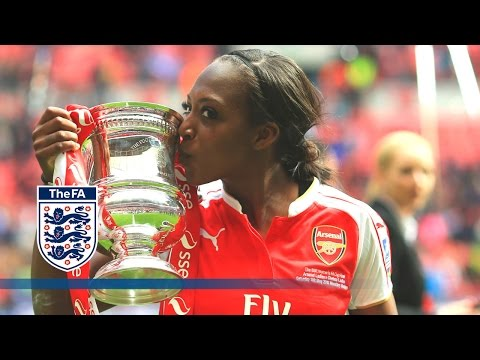 Arsenal Ladies React to Winning 2015/16 SSE Women's FA Cup | FATV News