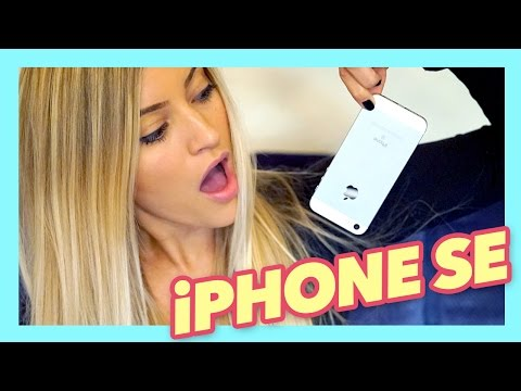 iPhone SE Unboxing + Review!