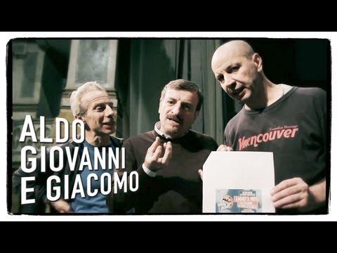 Aldo Giovanni e Giacomo presentano il live di Ammutta Muddìca – 30/11/2012 dalle ore 20,45