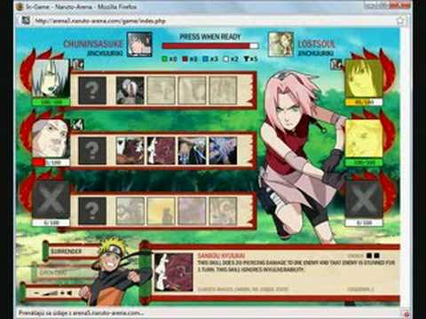 naruto and sasuke fight. Naruto arena (ChuninSasuke