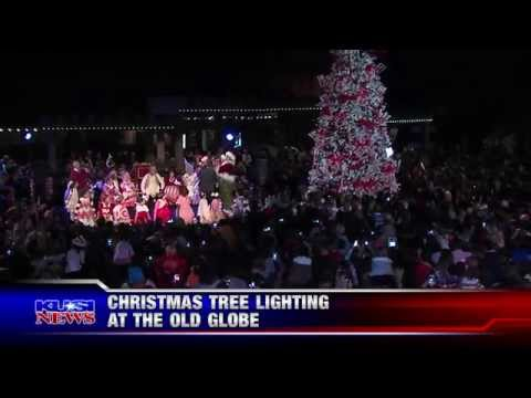 The Ninth Annual Old Globe Christmas Tree Lighting