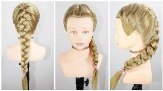 सागर चोटी कैसे बनाए   French braid hairstyle   Sagar choti   Basic french braid